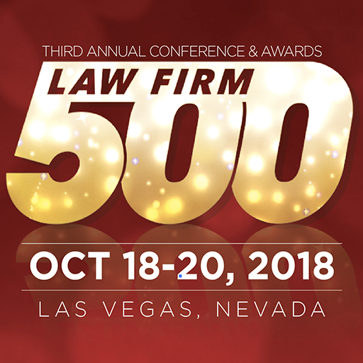 law firm 500 conference awards