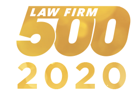 2020 Law Firm 500 logo