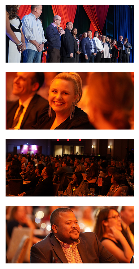 happy lawyers learning and celebrating their success at Law Firm 500 event